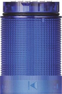 Signalni stolp LED Werma Signaltechnik KomdoIGN 40 TwinLIGHT modre barve stalna luč utripajoča luč 24 V/AC, 24 V/DC
