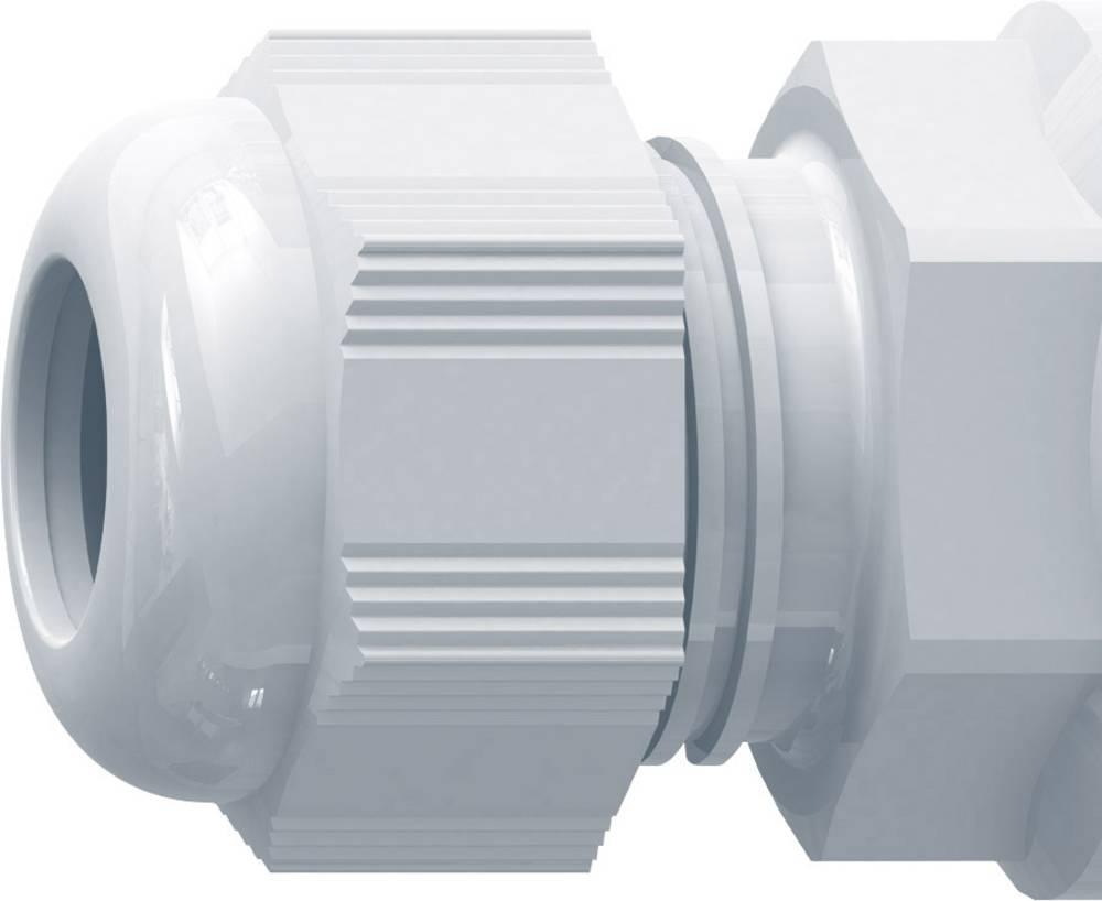 Kabelska uvodnica Snap-In M16 poliamid svijetlo sive boje (RAL 7035) RST FrontFix FRONTFIX1116 10 kom.