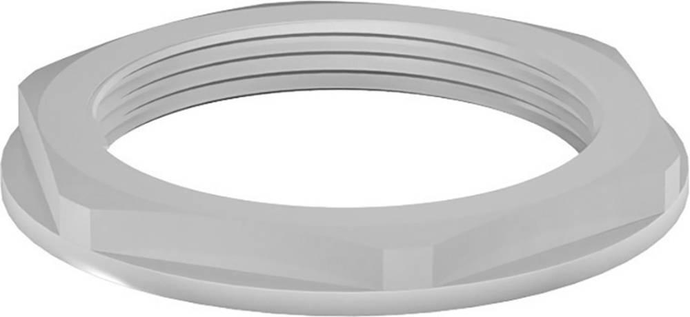 Varovalna matica z obročem M40, poliamid sive barve (RAL 7001) RST 12096540 50 kos