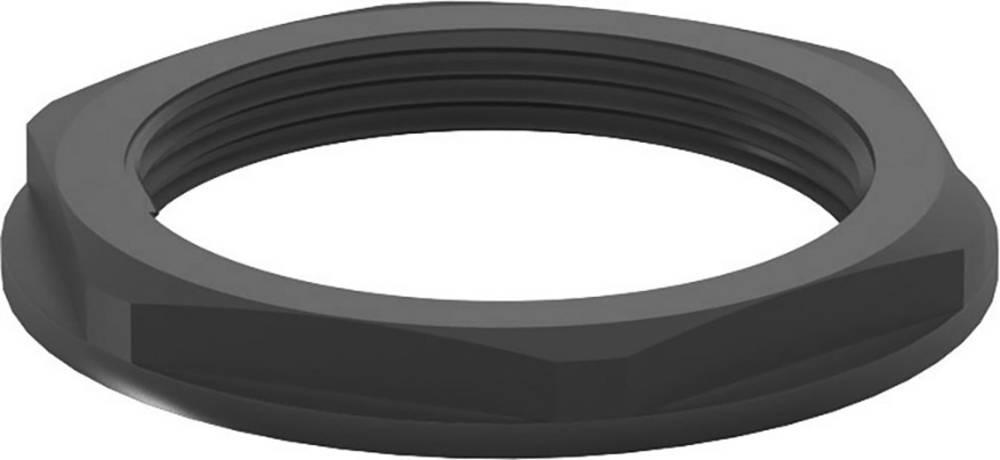 Varovalna matica z obročem M32, poliamid črne barve (RAL 9005) RST 13096532 100 kos