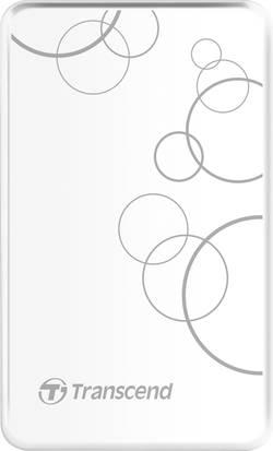"Image of 2.5"" external hard drive 1 TB Transcend StoreJet 25A3W White USB 3.0"