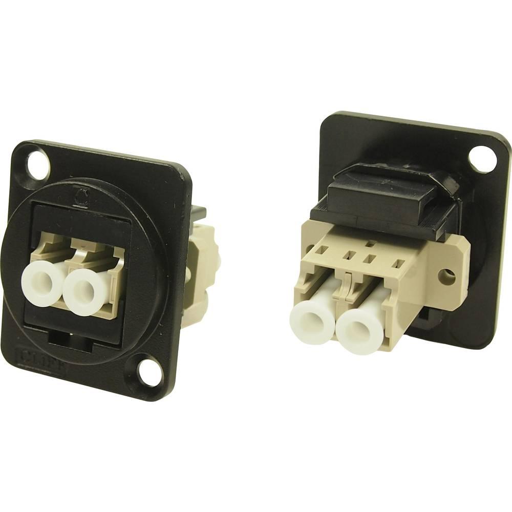 XLR adapter LC Duplex MM adapter, vgradni CP30214MB Cliff vsebina: 1 kos