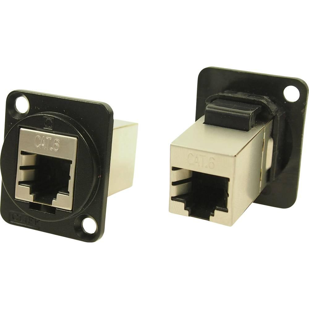 XLR adapter UTP RJ45 Cat6 adapter, vgradni CP30222SMB oklopljen Cliff vsebina: 1 kos