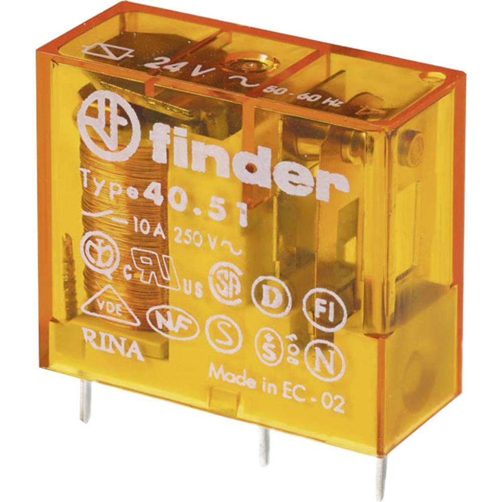 Printrelæ 230 V/AC 10 A 1 x skiftekontakt Finder 40.51.8.230.0000 1 stk