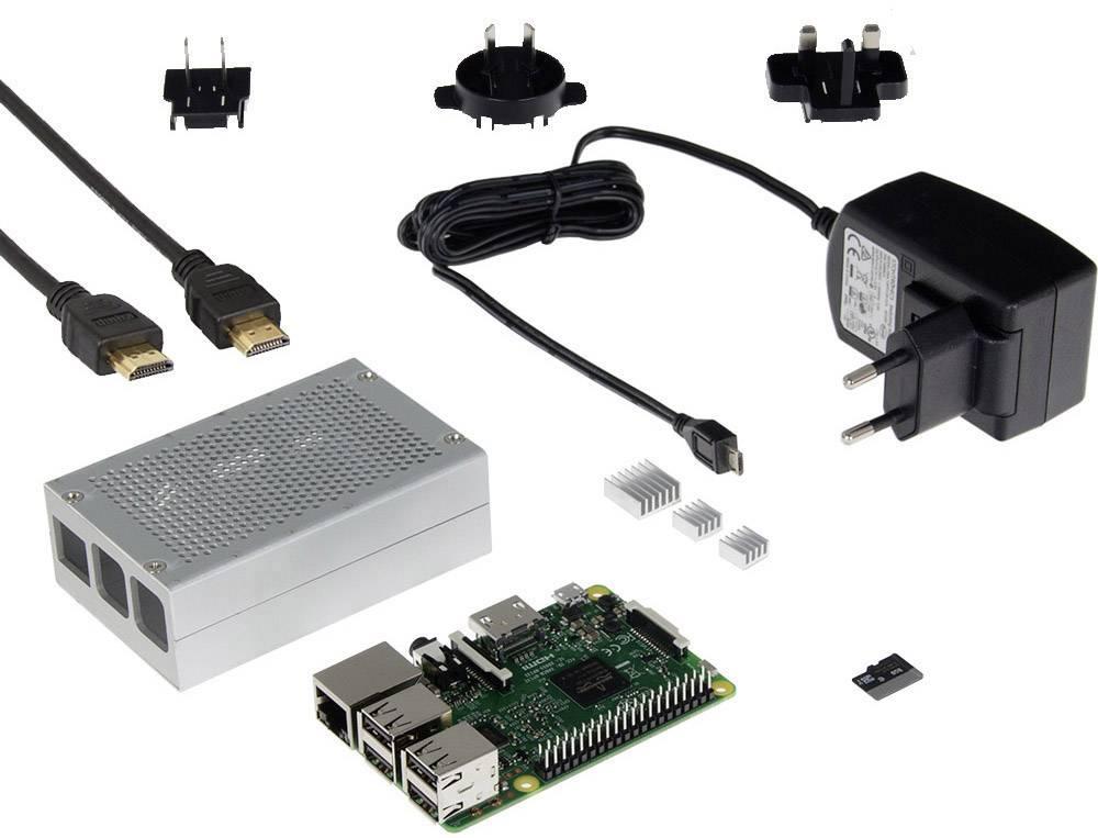 Raspberry Pi® Model B Media Center komplet 1 GB