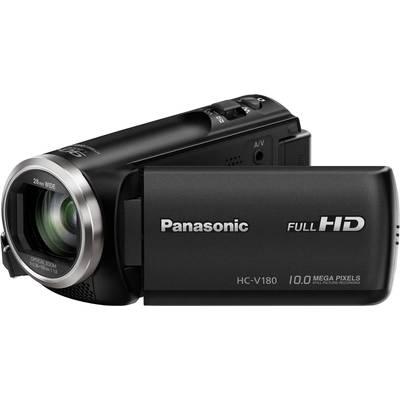 Panasonic HC-V180EG-K Camcorder 6.9 cm 2.7  2.5 MPix Optical zoom: 50 x Black