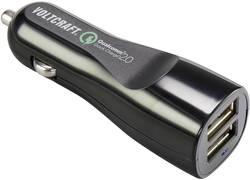 Adapter Cigarettænderstik til USB VOLTCRAFT 12 V, 24 V 2.4 A
