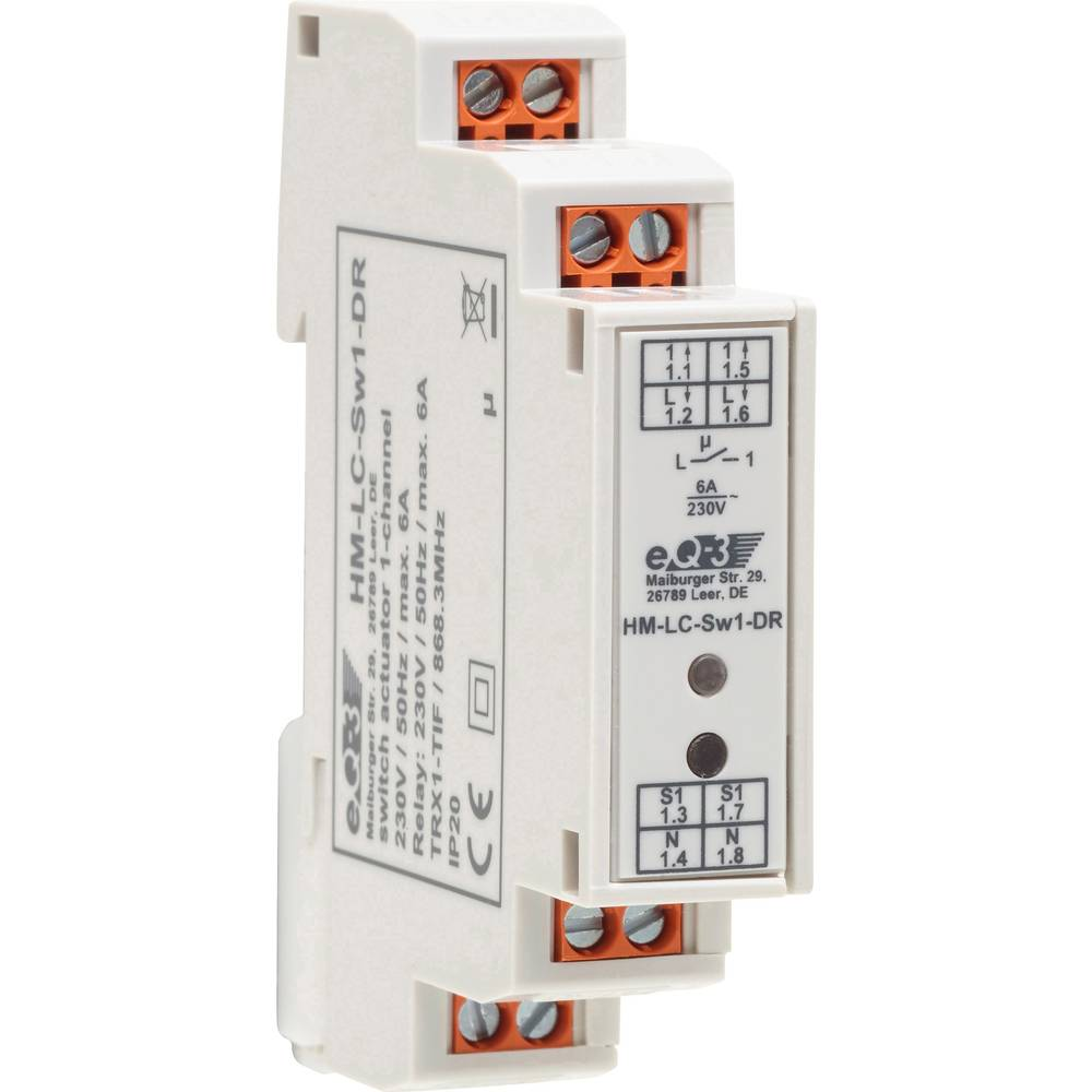 Homematic Wireless Switch Hm Lc Sw1 Dr 141378 1 C From Conrad Circuit