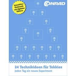 Conrad-julekalenderen med 24 eksperimenter Conrad Components Der Conrad Adventskalender