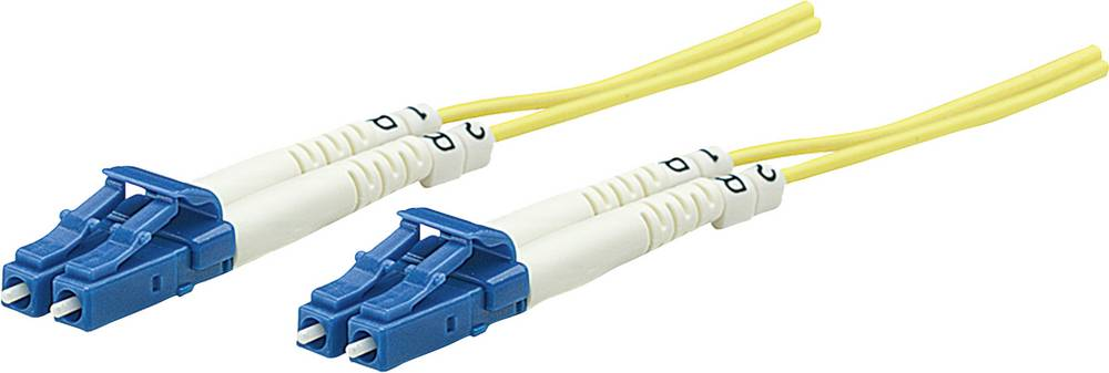 Priključni kabel iz optičnih vlaken [1x LC-vtič - 1x LC-vtič] 9/125µ enojni-način OS2 5 m Intellinet