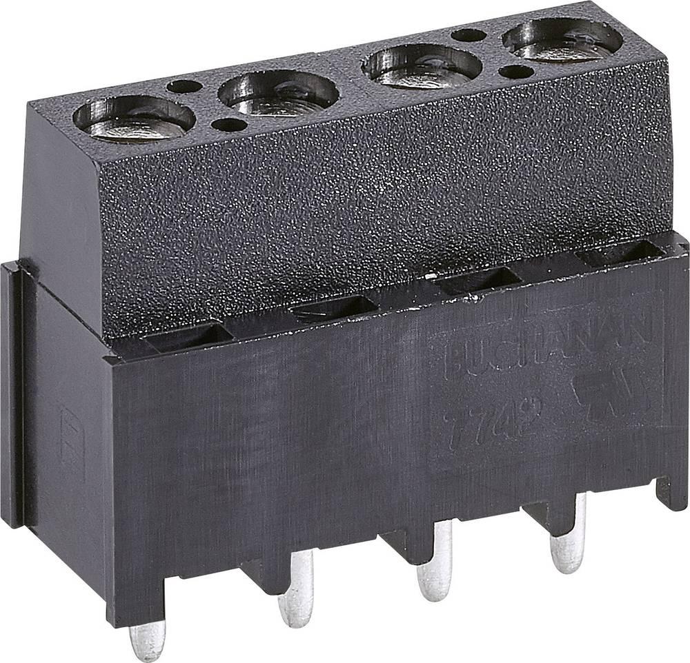 Skrueklemmeblok TE Connectivity 282844-2 3 mm² Poltal 2 Grøn 1 stk