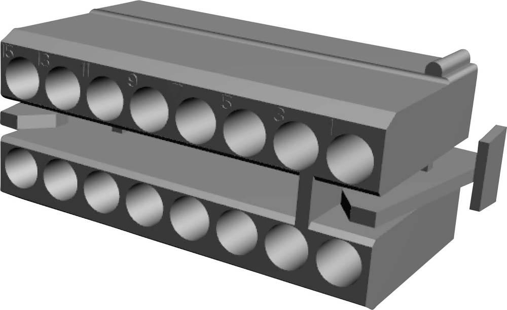 Tilslutningskabinet-kabel MATE-N-LOK Samlet antal poler 16 TE Connectivity 1-480438-0 Rastermål: 5.08 mm 1 stk