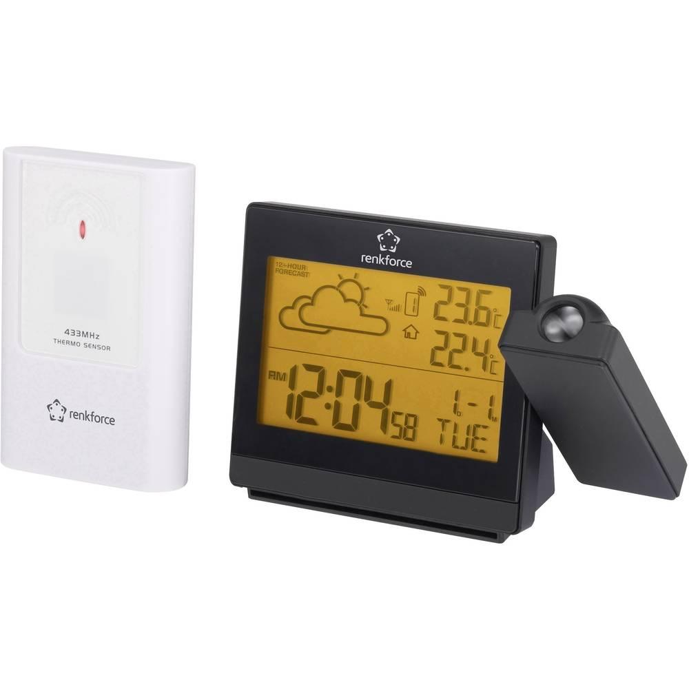 Radio Projection Clock Digital Renkforce C8419 C8339