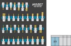 Hazet 163-407/35 Allen, XZN socket, TA socket, TORX socket