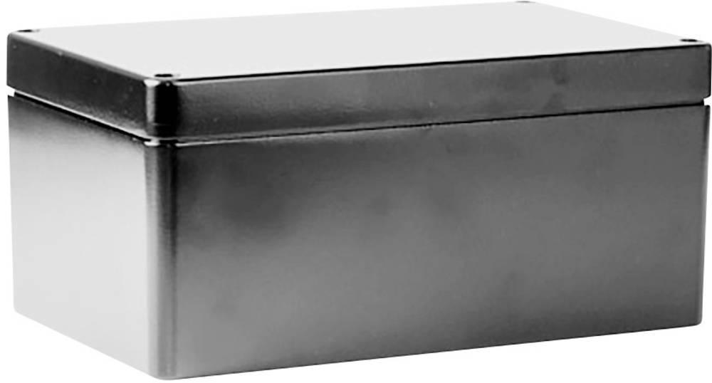 Universalkabinet 260 x 160 x 90 Aluminium Grå Deltron Enclosures 488-261609A-66 1 stk