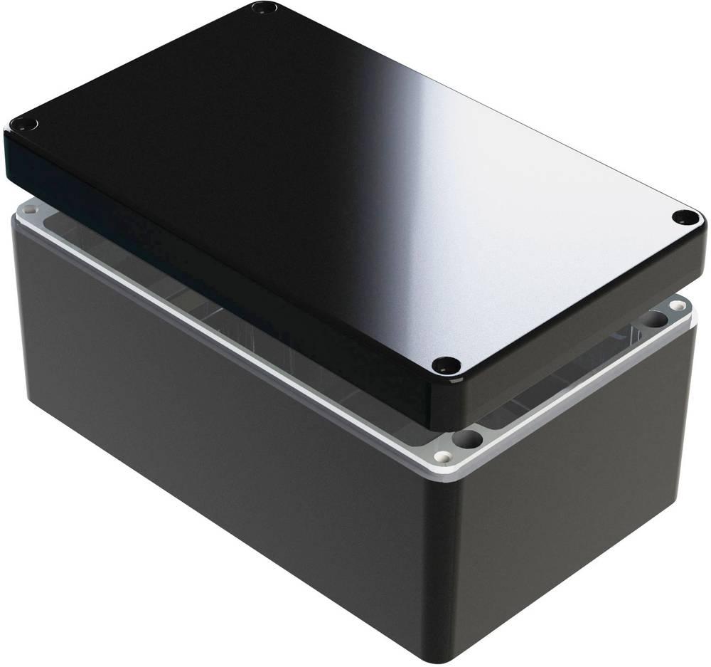 Universalkabinet 260 x 160 x 120 Aluminium Blå Deltron Enclosures 487-261612B-68 1 stk