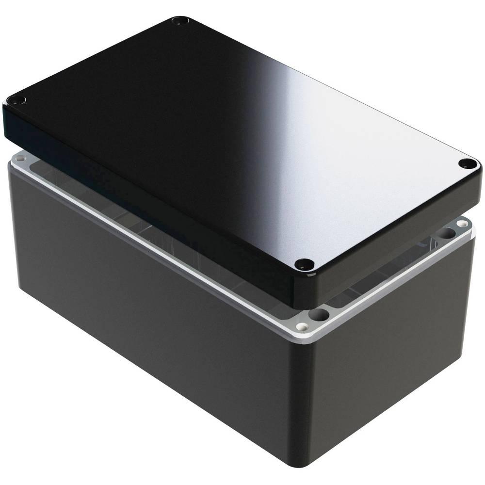 Universalkabinet 260 x 160 x 120 Aluminium Blå Deltron Enclosures 487-261612B-66 1 stk