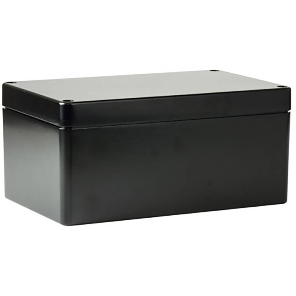 Universalkabinet 260 x 160 x 90 Aluminium Blå Deltron Enclosures 487-261609B-68 1 stk