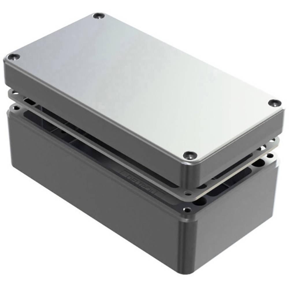 Universalkabinet 220 x 120 x 80 Aluminium Natur Deltron Enclosures 486-221208-66 1 stk