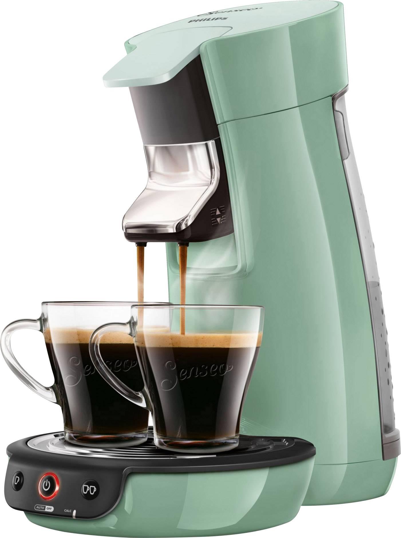 Senseo Viva Café Hd782910 Pod Coffee Machine Mint Green