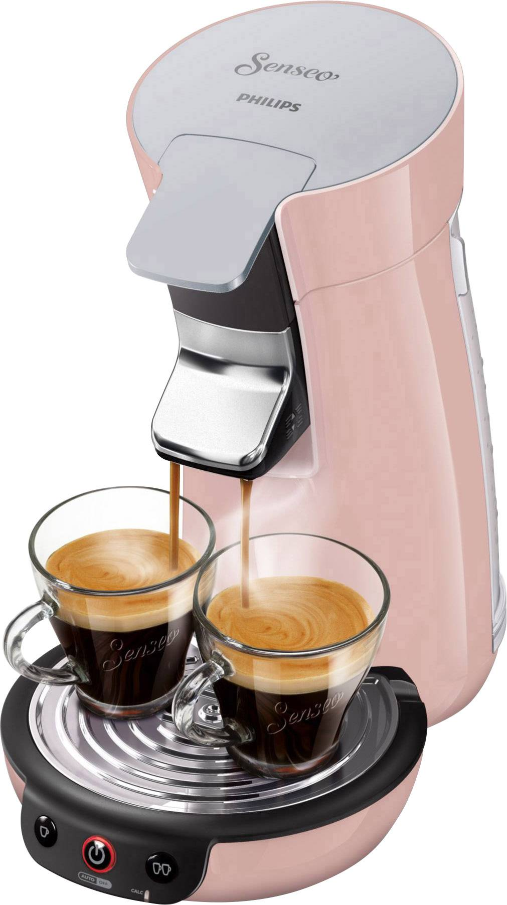 Senseo Viva Café Hd782930 Pod Coffee Machine Pink Conradcom