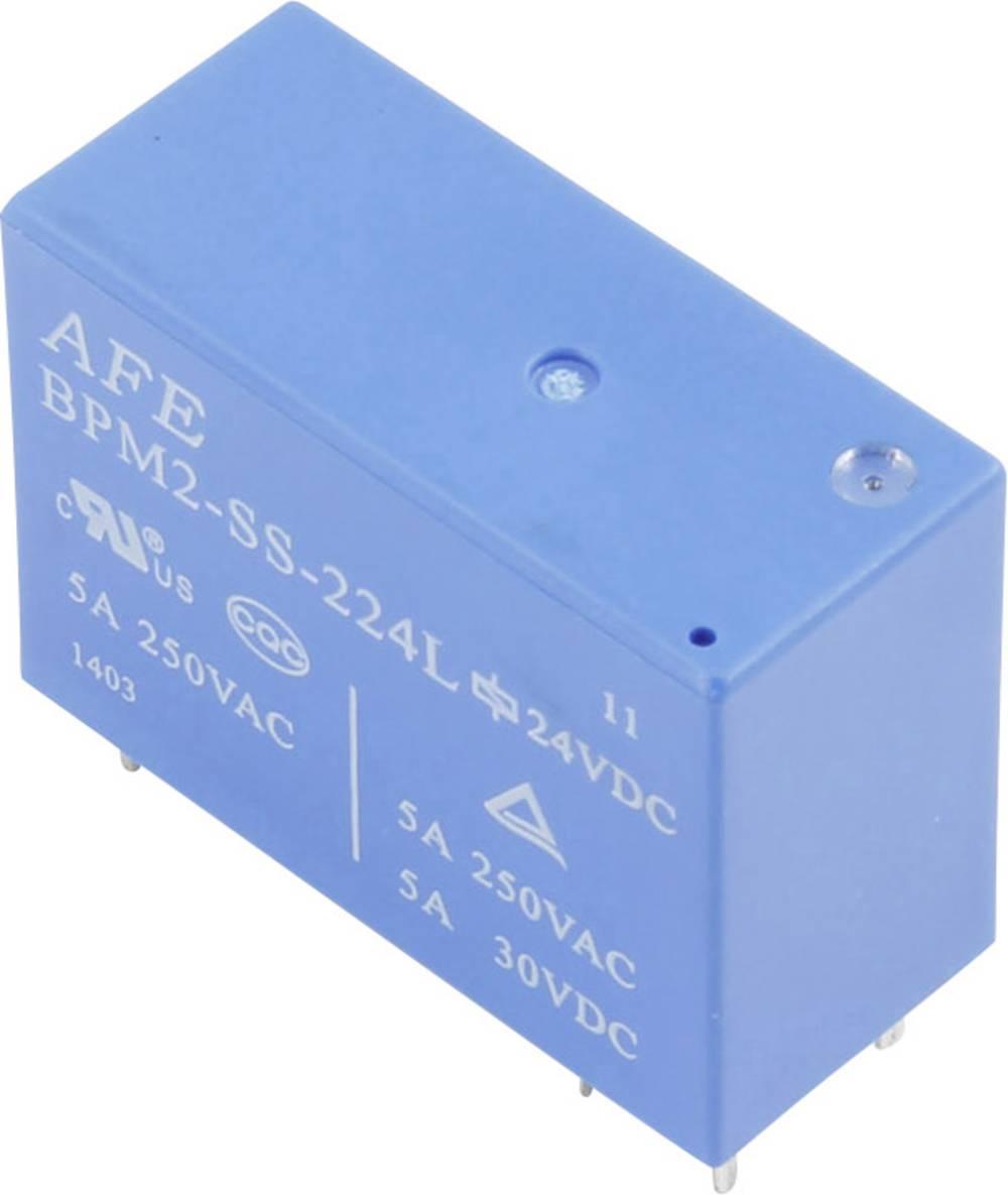 Printrelæ 24 V/DC 5 A 2 x sluttekontakt AFE BPM2-SS-224LM 1 stk