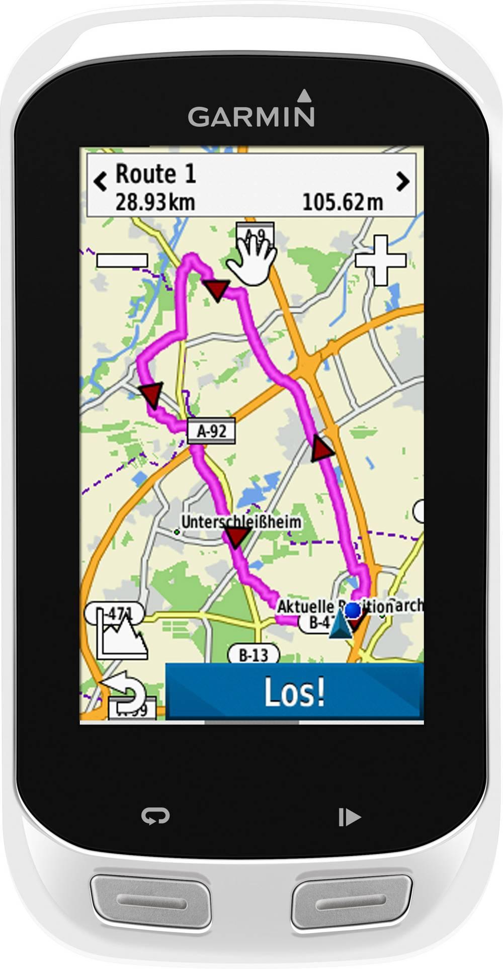 Navigacijski uređaj za bicikl Garmin Edge® Explore 1000, Europa GPS