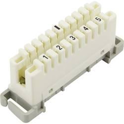 LSA Plus 2 konektorski modul 5 dvožilni 93014c1014 bele barve, vsebina: 1 kos