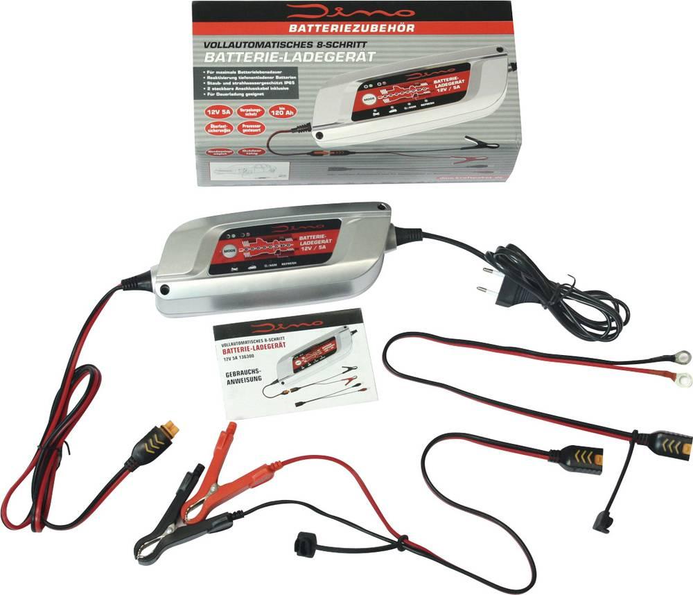 Automatisk oplader DINO 136300 12 V 5 A