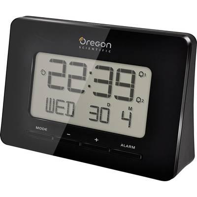 Oregon Scientific RM 938 black Radio Alarm clock Black Alarm times 2