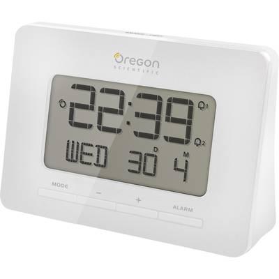 Oregon Scientific RM 938 white Radio Alarm clock White Alarm times 2