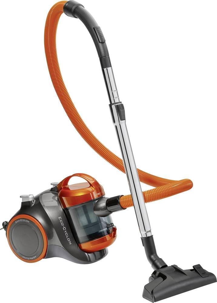Dammsugare utan påse Clatronic BS 1304 700 W Energieffektivitetsklass A Antracit, Orange