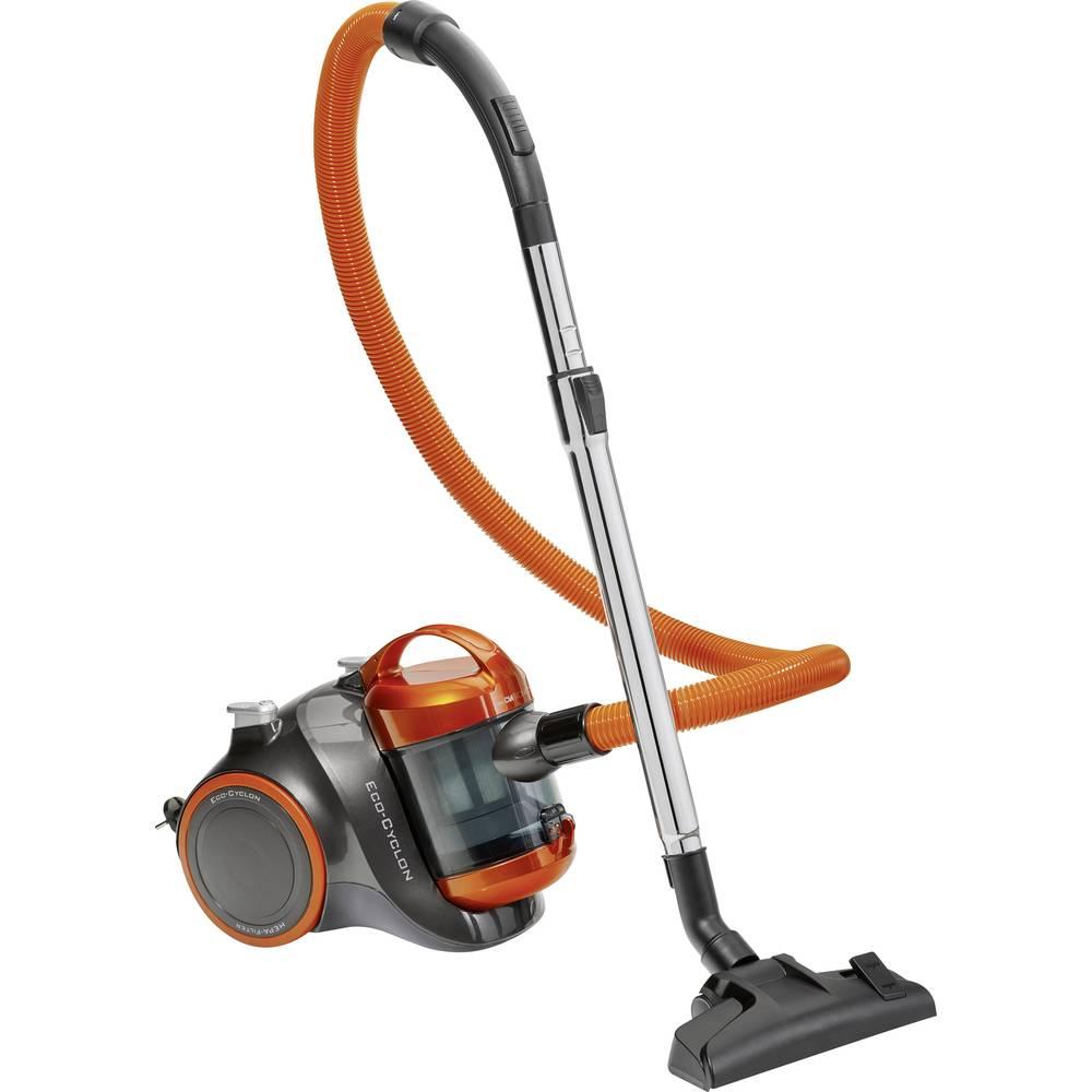 Støvsuger uden pose Clatronic BS 1304 700 W Antracit, Orange