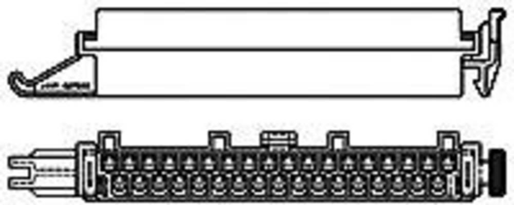Ohišje kabelskega vtiča, skupno št. polov: 35 TE Connectivity 827667-1 razporeditev kontaktov: 5 mm 1 kos
