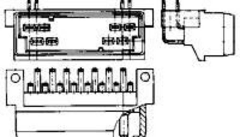 Stiftkabinet-kabel J-P-T Samlet antal poler 4 TE Connectivity 1-929505-1 Rastermål: 5 mm 1 stk