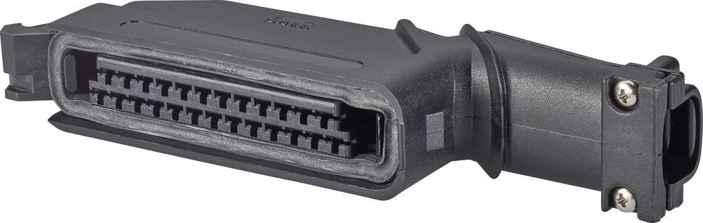 Ohišje kabelskega vtiča, skupno št. polov: 25 TE Connectivity 827249-2 razporeditev kontaktov: 5 mm 1 kos