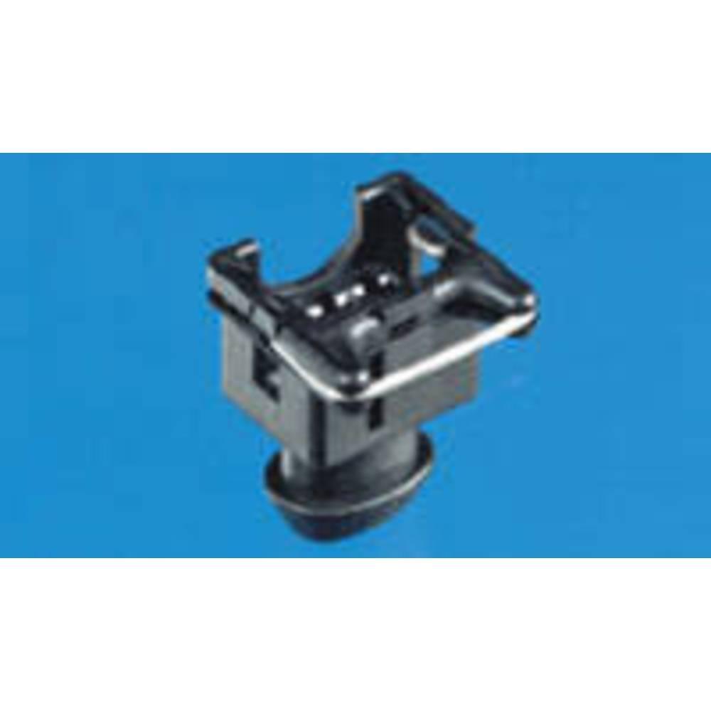 Tilslutningskabinet-kabel J-P-T Samlet antal poler 2 TE Connectivity 282189-4 Rastermål: 5 mm 1 stk