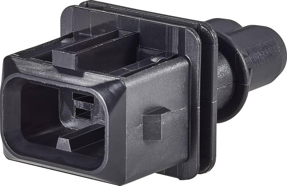 Ohišje kabelskega vtiča, skupno št. polov: 2 TE Connectivity 106462-1 razporeditev kontaktov: 5 mm 1 kos