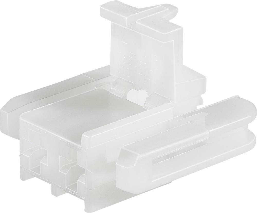 Ohišje kabelskega vtiča, skupno št. polov: 2 TE Connectivity 365058-1 razporeditev kontaktov: 6.2 mm 1 kos