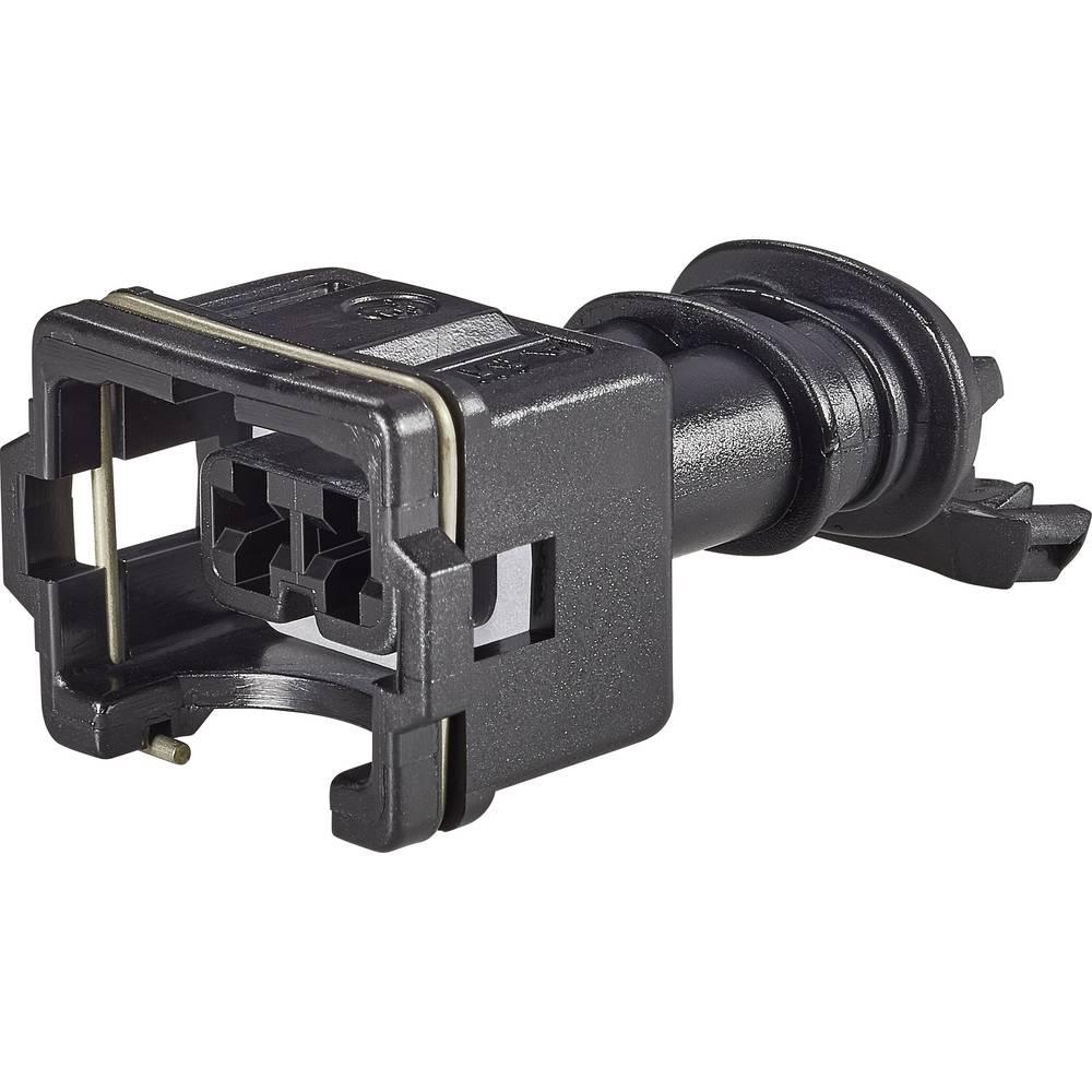 Tilslutningskabinet-kabel J-P-T Samlet antal poler 2 TE Connectivity 282190-1 Rastermål: 5 mm 1 stk