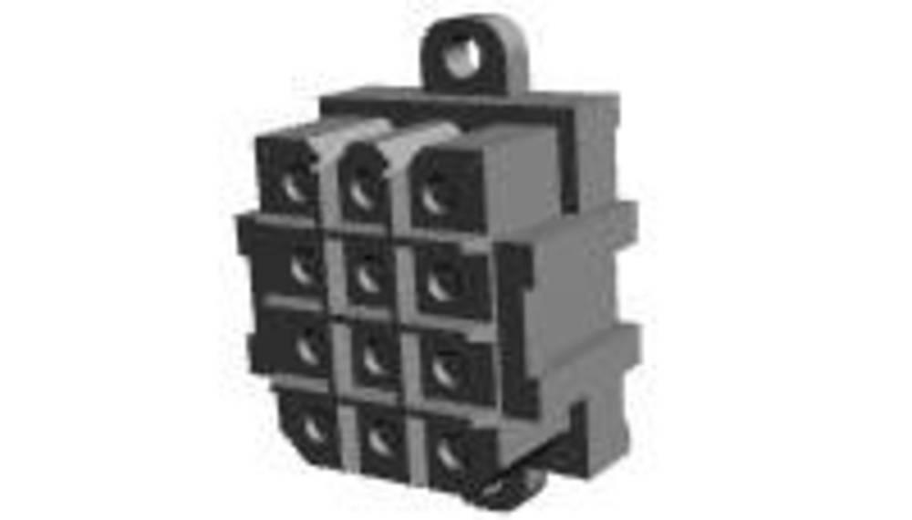 Ohišje vtičnice za tiskano vezje, skupno št. polov: 6 TE Connectivity 207524-9 razporeditev kontaktov: 5 mm 1 kos