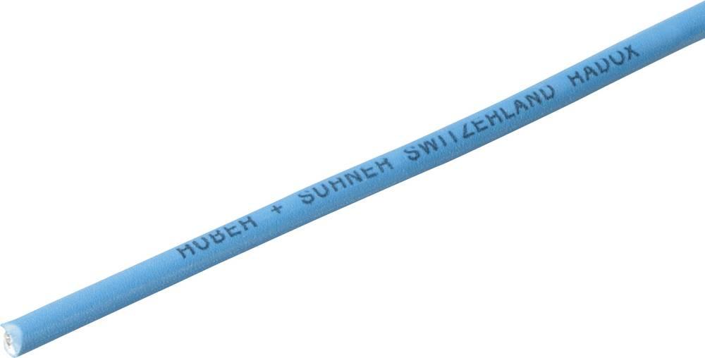 Finožični vodnik Radox® 155 1 x 1.5 mm modre barve Huber & Suhner 12420047 meterski