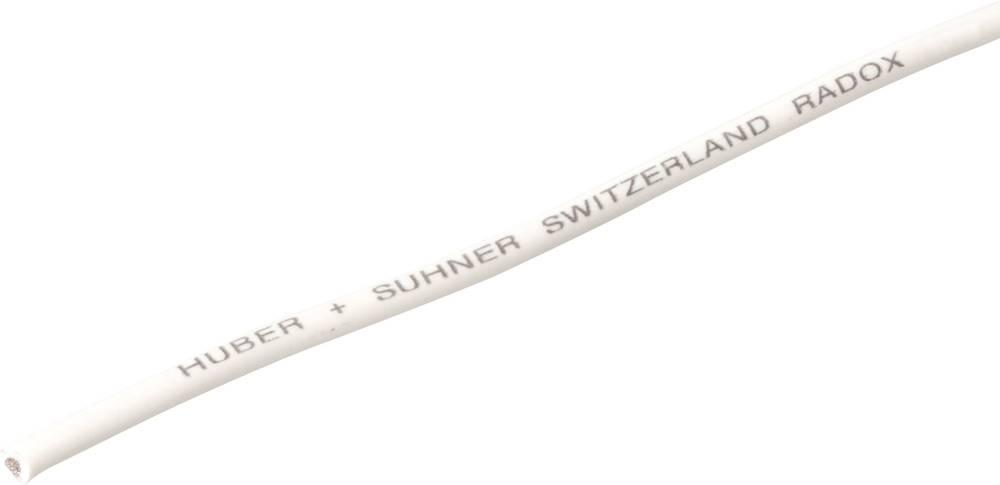 Finožični vodnik Radox® 155 1 x 2.5 mm bele barve Huber & Suhner 12420248 meterski