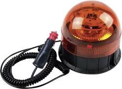 Varningsljus 8 CREE LED 12 V, 24 V via bilens elsystem Magnetfot, Sugkopp, Skruvmontering Orange Berger & Schröter ECE R65 · E13