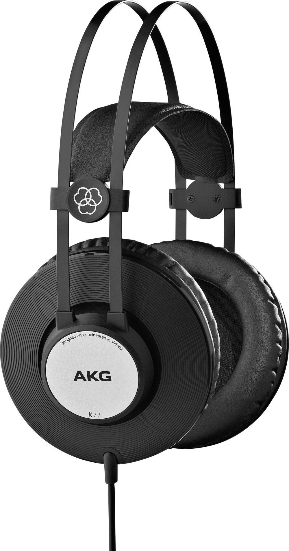 Studijske slušalke AKG Harman K72, Over Ear, črne, srebrne