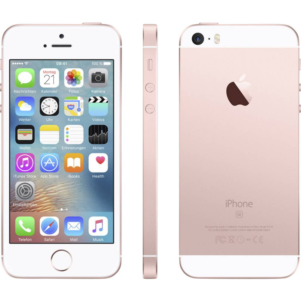 Apple Iphone Se 32 Gb Rose Gold From 5 Certified Pre Owned 32gb