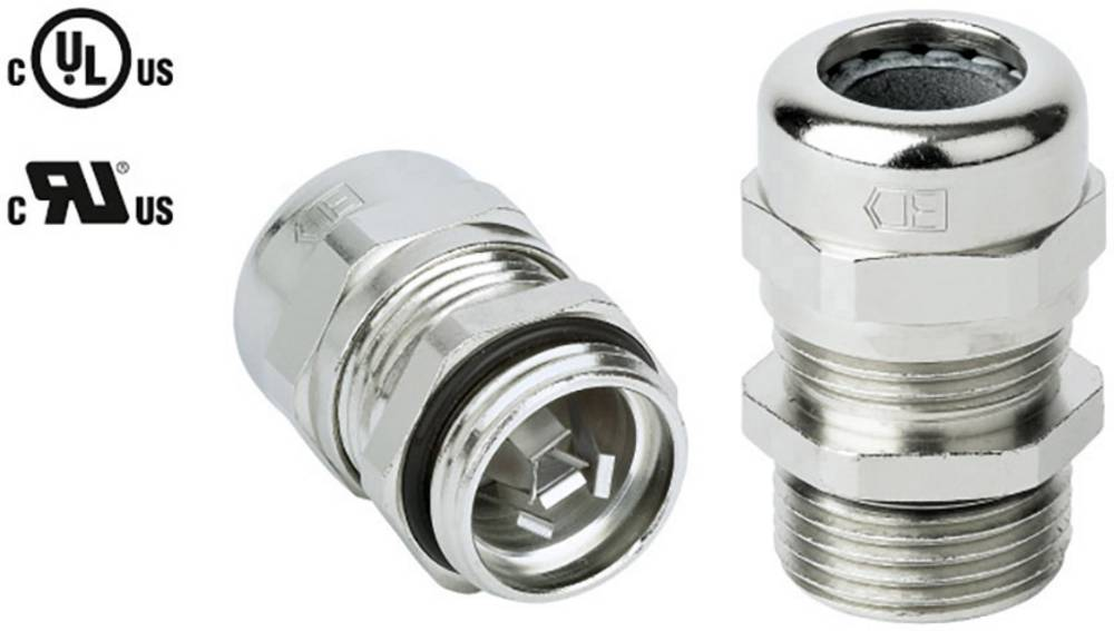 Kabelforskruning Jacob 50.620 M/EMVD M20 Messing Messing 1 stk