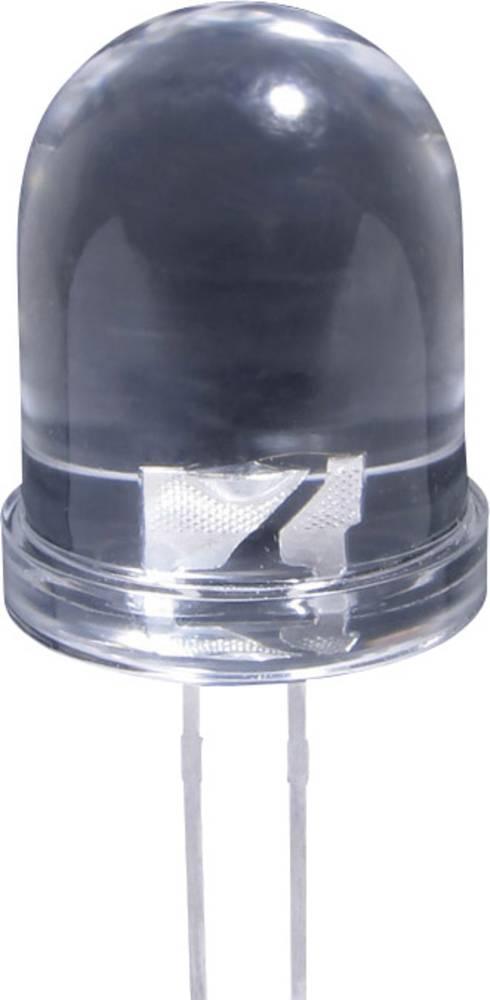LED med ledninger Kingbright 10 mm 3000 mcd 20 mA 2.1 V Rød