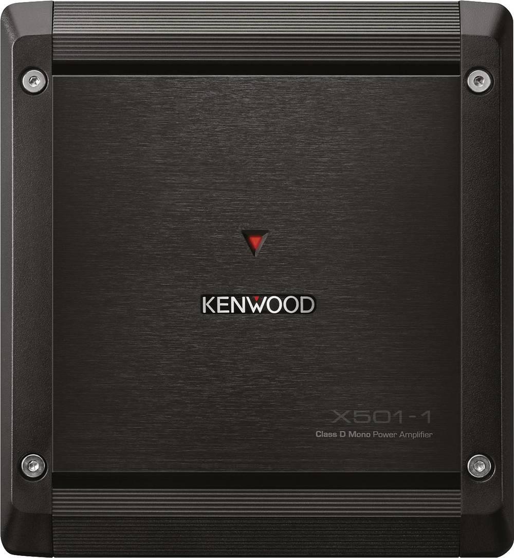 1-kanals-sluttrin Kenwood X501-1 Sort