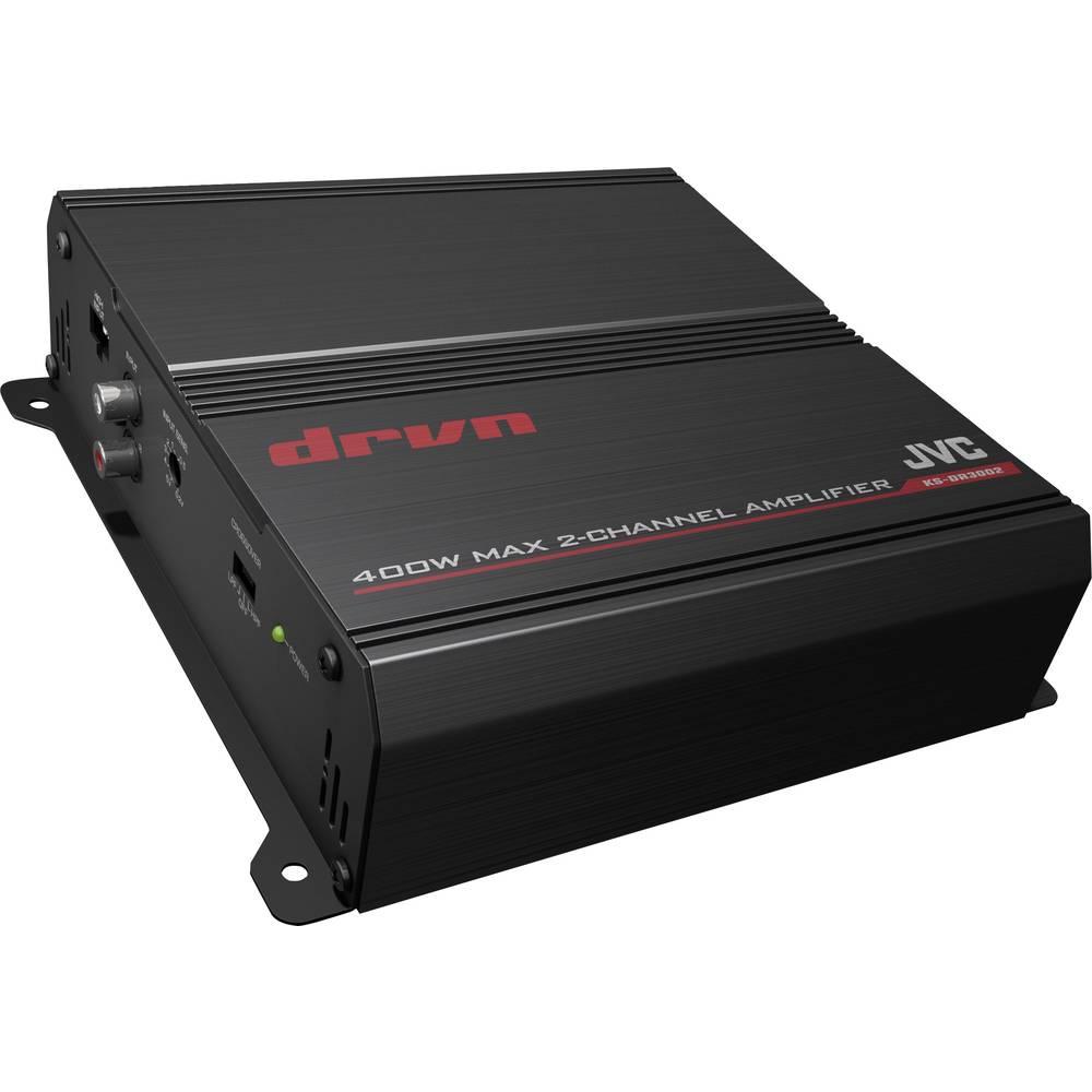 2-kanals sluttrin JVC KS-DR3002 400 W Sort